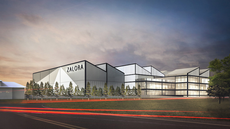 ZALORA Philippines' upcoming mega e-fulfillment center in Daang Hari & Daang Reyna Junction, Muntinlupa City