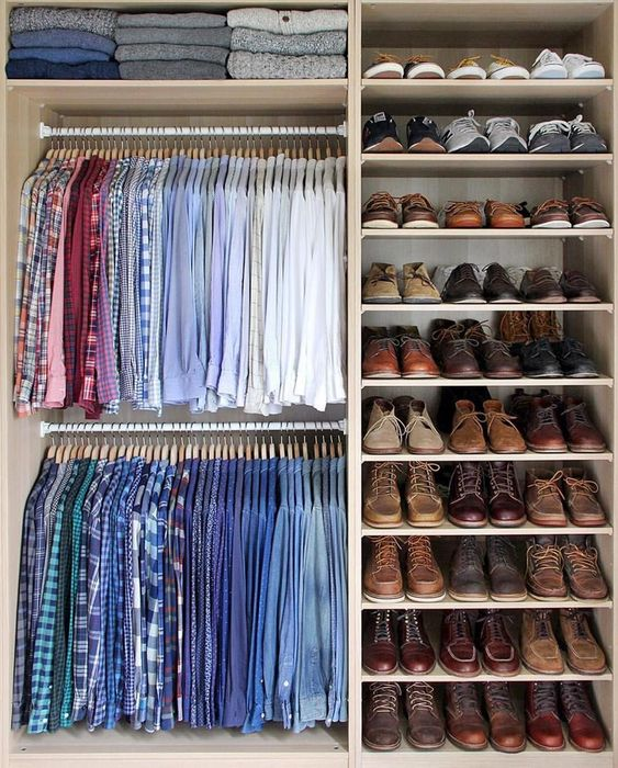 redoing your closets
