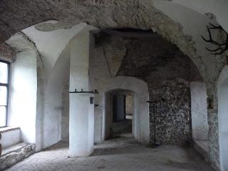 Замок Сент-Міклош. Зали на другому поверсі