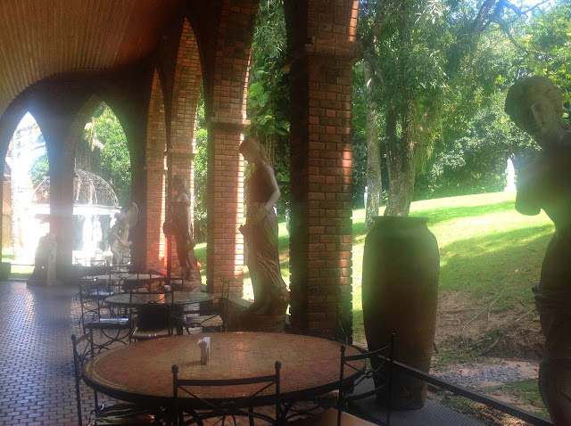 Restaurante do Instituto Ricardo Brennand em Recife