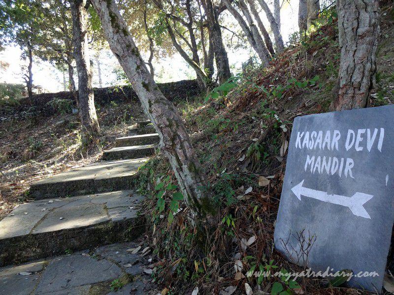 Kasar Devi Temple Trail, Uttarakhand