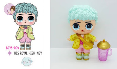 His Royal High-Hey boy doll