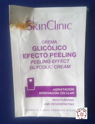 Crema glicólico efecto peeling