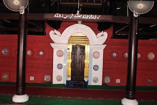 mihrab masjid merah panjunan cirebon