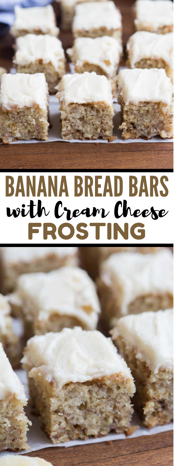 Banana Bread Bars #desserts #snack