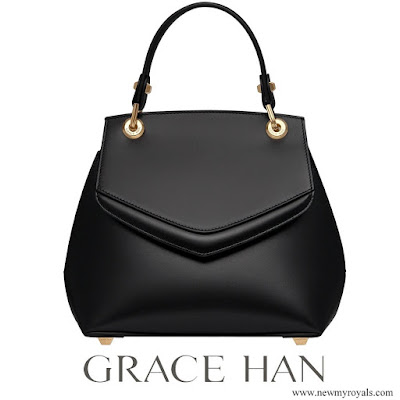 Kate Middleton carries Grace Han Love Letter Small Top Handle Bag