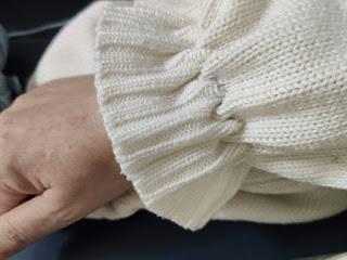 ゴム通しせずに裾のフリルを作る絞り縫いの方法,sewing stitch,手工针织