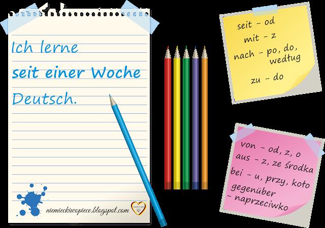 Niemiecki w opiece - Przyimki niemieckie z celownikiem - Nauka niemieckiego, Opiekunowie osób starszych, język niemiecki