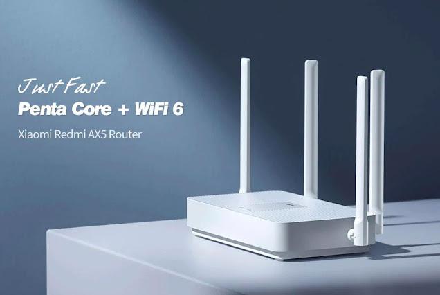 The New Xiaomi Redmi AX5 Wireless Router (Wifi 6 )