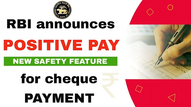 Introducing Positive Pay for safer cheque payments