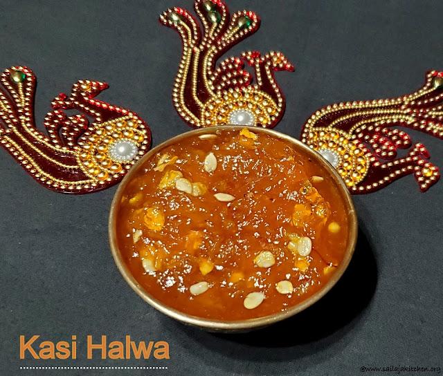 images of Kasi Halwa / Poosanikai Halwa / Kashi Halwa / White Pumpkin Halwa / Ash Gourd Halwa
