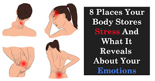 8 Places Where The Body Stores Stress