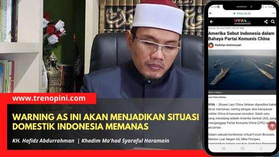 KH. Hafidz Abdurrahman, Khadim Ma'had Syaraful Haramain