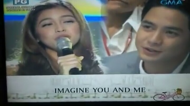"Maine Mendoza Sings ""Imagine You and Me"" at Eat Bulaga"