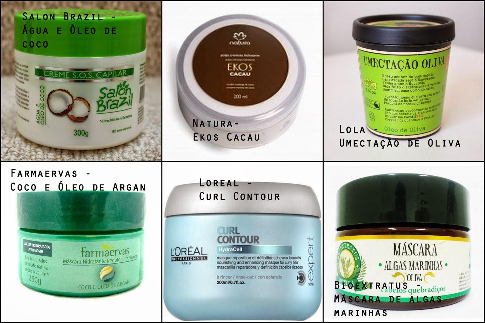 Extremamente Mascaras de Nutrição liberadas para Low e No Poo - Aroma de Cachos CC49
