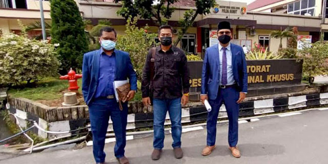 Laporkan Dugaan Pemerasan Wakapolsek Helvetia Medan, Jefry Balik Dituduh Cemarkan Nama Baik