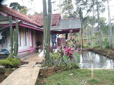 Panorama Desa Cilembu dari Villa-ku