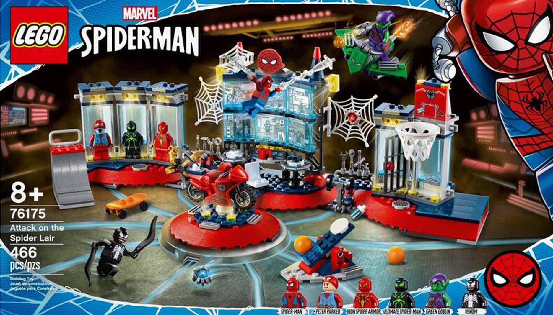 レゴ(LEGO) スーパー・ヒーローズ スパイダーマンのかくれ家への攻撃 76175
