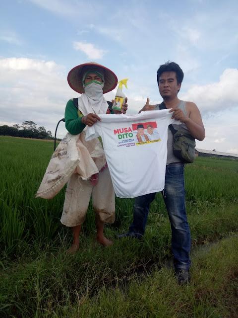 Musa-Ardito Bagikan Hand Sanitizer herbal melalui Pemuda Berkarya