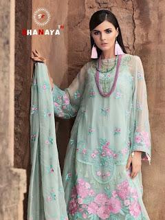 Shanaya Rose Espoir Geourgette Pakistani Suits