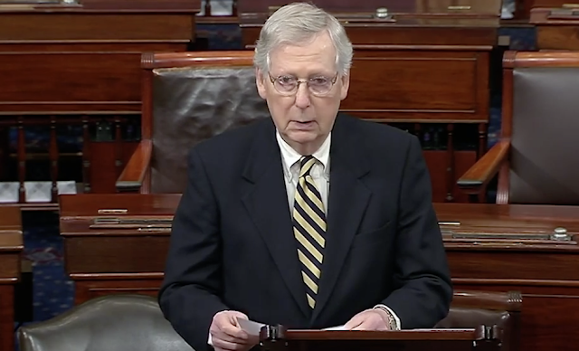 Democrats blast McConnell for saying Republicans would fill a 2020 Supreme Court vacancy