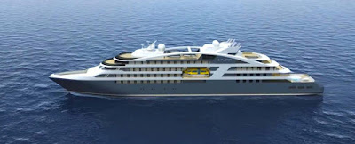 Ponant's Le Laperouse On Target For Maiden Voyage and Naming Ceremony.