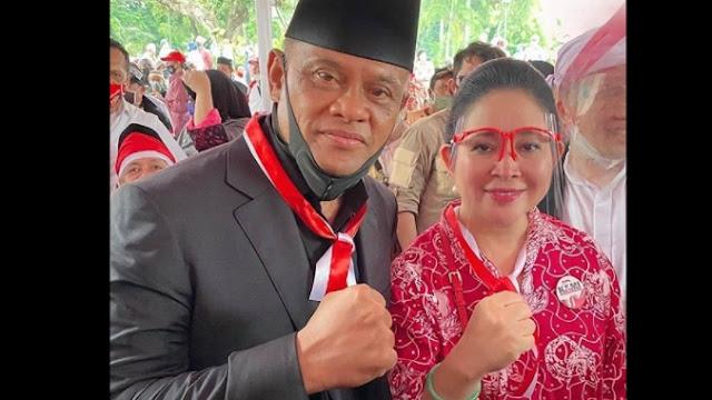 Netizen Iseng Jodohkan Gatot Nurmantyo-Titiek Soeharto untuk 2024