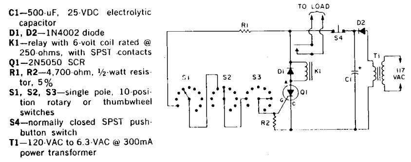 Marvelous 3 Dial Combination Lock Circuit Diagram Electronictheory Gianparkash Wiring Cloud Pendufoxcilixyz