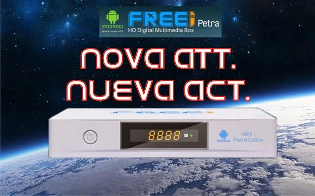 FREEI PETRA NOVA ATUALIZAÇÃO V1.0.0.95 ADICIONADO NOVOS APP - 04/10/2017