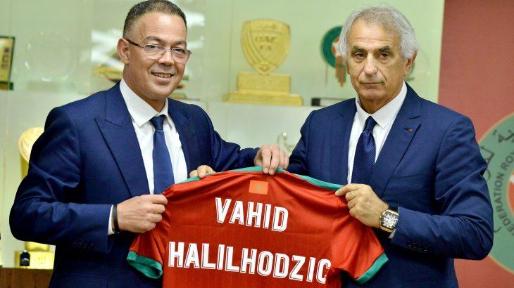 FRMF : Vahid Halilhodzic prend officiellement les rênes de la sélection nationale