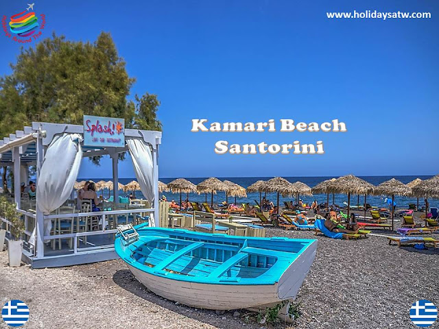the most important tourist places in Santorini