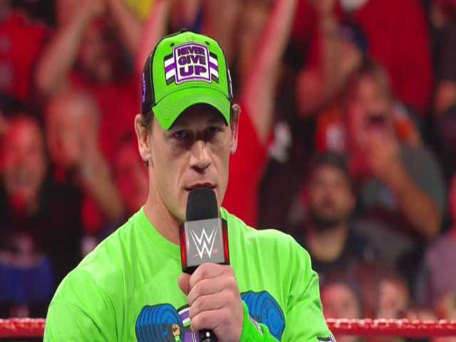John Cena made a big announcement for Royal Rumble at WWE RAW