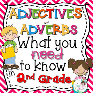 2nd Grade Adjectives and Adverbs Activities