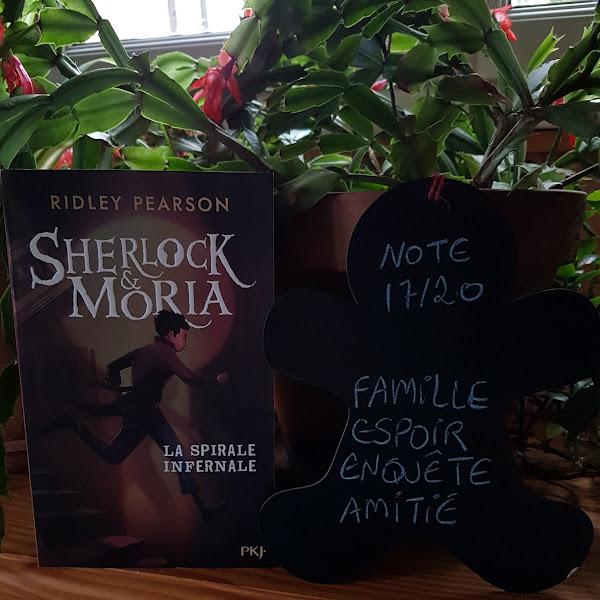 Sherlock & Moria, tome 2 : La Spirale infernale de Ridley Pearson