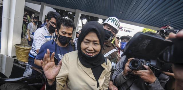 Diperiksa Sampai Jam 4 Dinihari, Anita Kolopaking Ditahan Selama 20 Hari