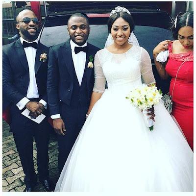 Ubi franklin wife lillian esoro on their wedding day