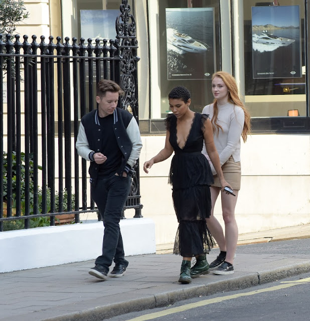 Sophie Turner and Alexandra Shipp sighted in London
