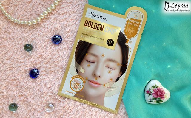 Mediheal Maska w płachcie akupresurowa GoldenChip rozjaśniająca