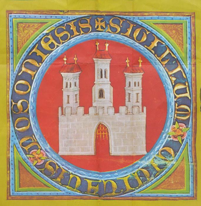 Bratislava, emblème, symbol, © L. Gigout, 1990