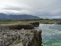 Bufones de Pría y Mar Cantábrico