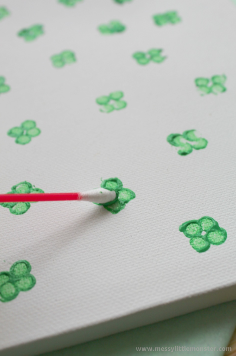 four leaf clover craft for preschoolers