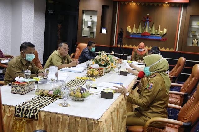 Viral Petang (30/03/2020) Bandar Lampung --- Pemerintah Provinsi Lampung gelar Rapat Koordinasi bersama Kementrian Agama Kantor Wilayah Lampung