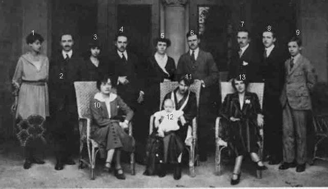réunion familiale à la cour de Luxembourg