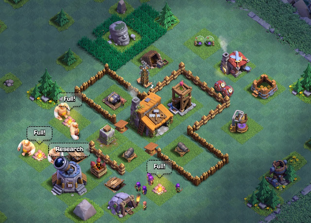 Best Clash Of Clans Base Builder Hall 3