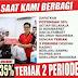 Benarkah, Discount 35 Persen di Alfamart dan Indomart Jika Teriak 2 Periode didepan Kasir ?