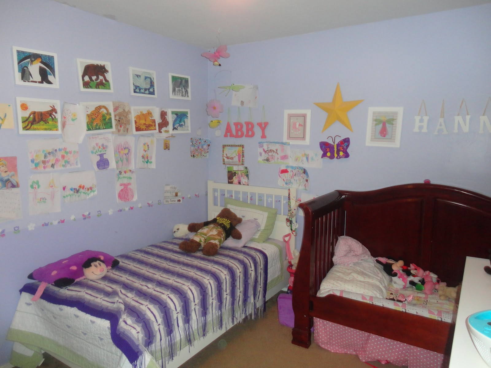 My Three Peas: Girl's Room Re-do
