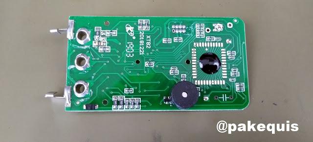 Multimetro Aneng Mini 180 PCB