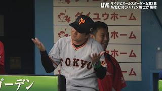 2017 オールスター 由伸監督 笑顔 小林 ホームラン