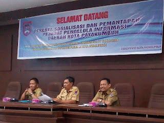 Diskominfo Gelar Sosialisasi Dan Pemantapan Pejabat Informasi Daerah (PPID)