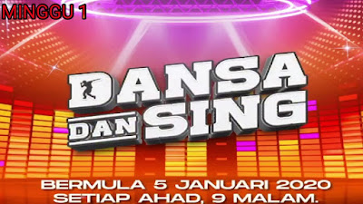 Live Streaming Dansa Dan Sing 2020 Minggu 1
